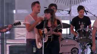 Hurray For The Riff Raff feat. Spirit Family Reunion - Crash On The Highway- live NFF July 2013