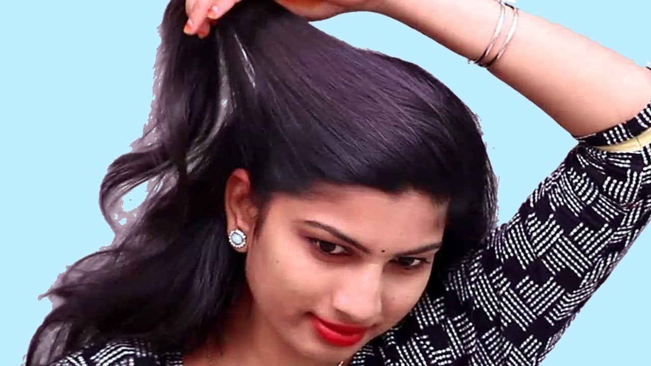 15 Easy self hairstyles for medium hair | Party Hairstyles | Hair ...