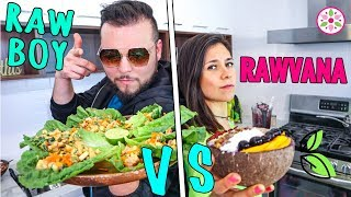 RAW VEGAN CHALLENGE