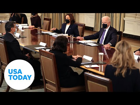 President Joe Biden holds a Cabinet meeting in the East Room   USA TODAY