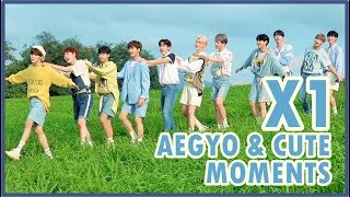 X1 (엑스원) Aegyo & Cute Moments