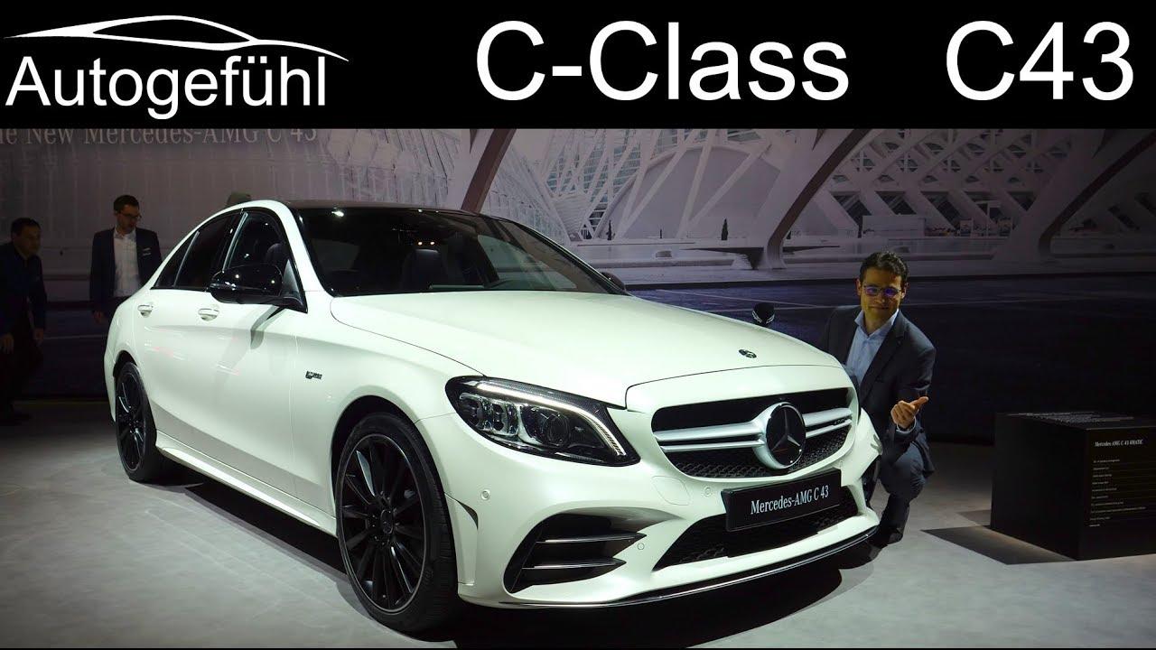 mercedes c43 amg c class facelift review 2019 2018 autogef hl youtube. Black Bedroom Furniture Sets. Home Design Ideas