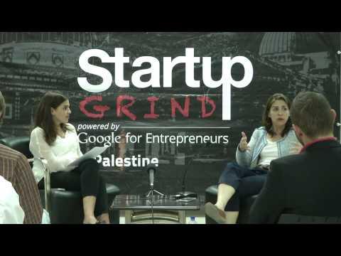 Liz Wald (Indiegogo) at Startup Grind Palestine