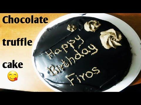 Chocolate Truffle Cake Recipe in Malayalam | Three Types ...
