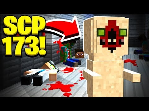 We found SCP 173's SECRET BASE in Minecraft! thumbnail