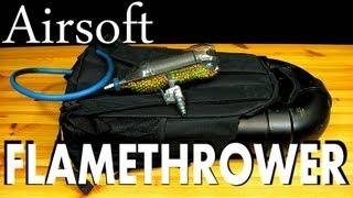 How to Make a $4 BB Gun &  Airsoft Flamethrower