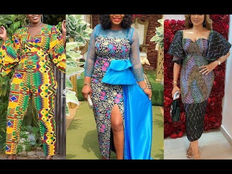 Modern African Dress Styles 2019 : Most Popular African Dresses Styles