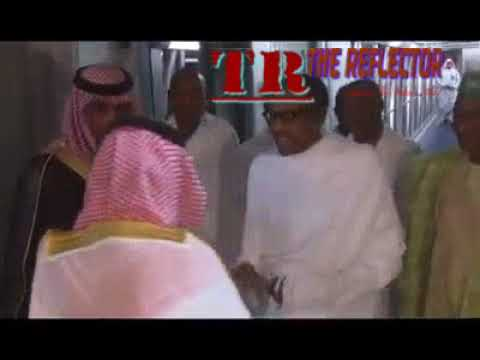 President Buhari Arrives In Jedah, Saudi Arabia, Welcomed By Top Country's Officials