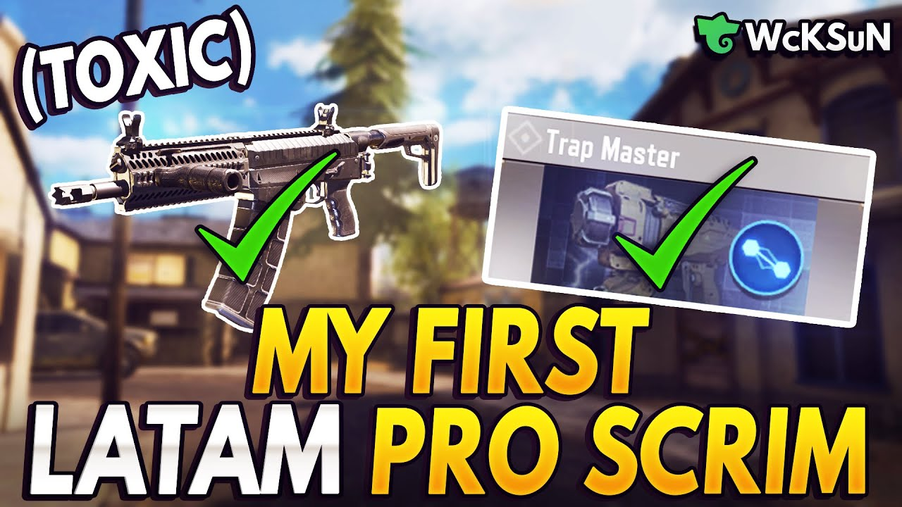 Download FIRST EVER PRO LATAM SCRIM EXPERIENCE (SWEATY)   Call of Duty Mobile: Battle Royale
