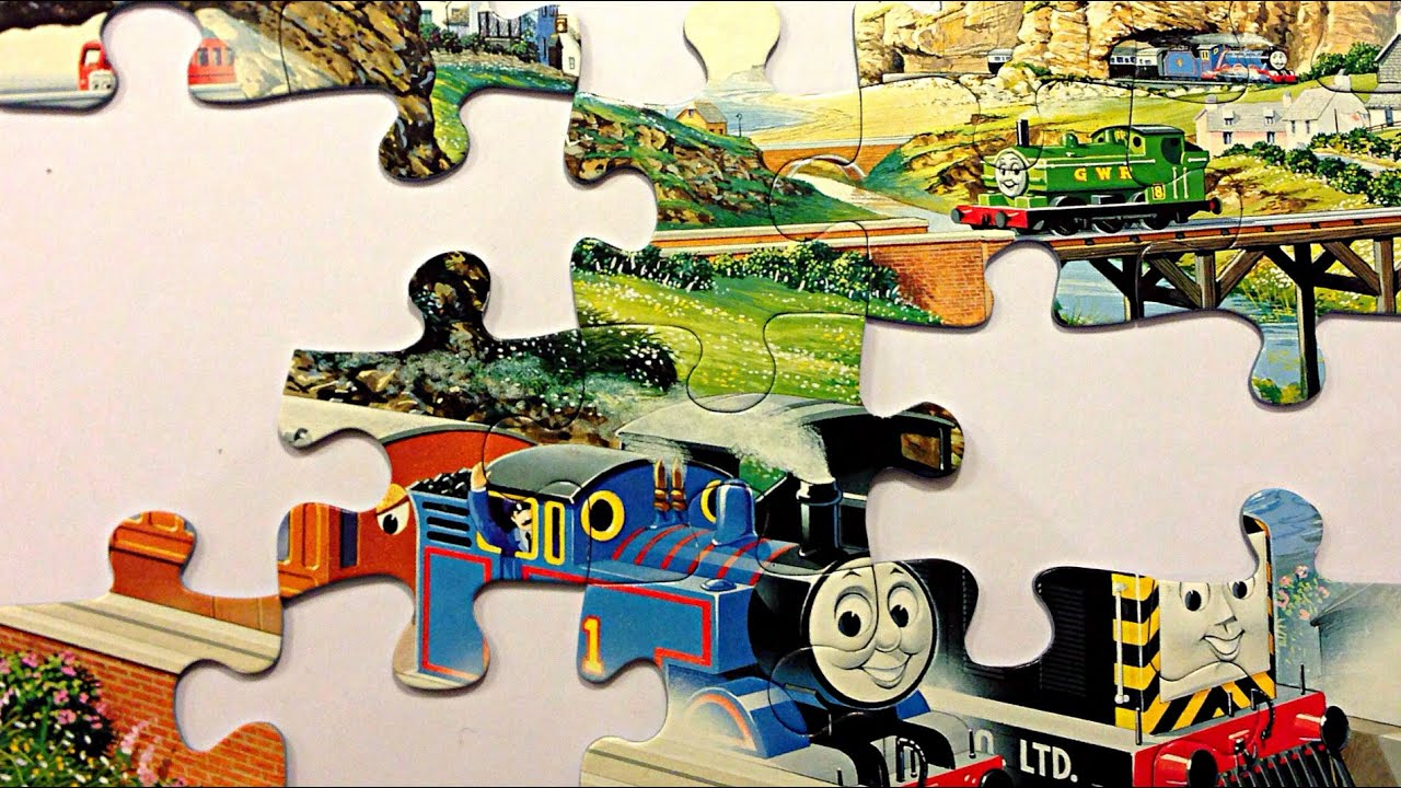 Thomas The Tank Engine Jigsaw Puzzle Thomas And Friends