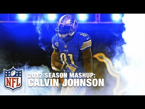 Calvin Johnson Record Setting 2012 Season Highlight Mashup | NFL