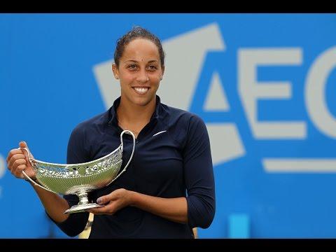 2016 Aegon Classic Final WTA Highlights   Madison Keys vs Barbora Strycova