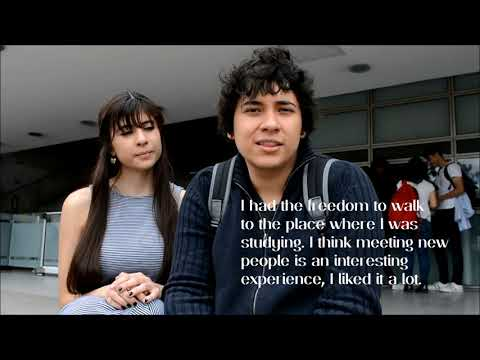 MeStudent  - International students in Bogota, Colombia.