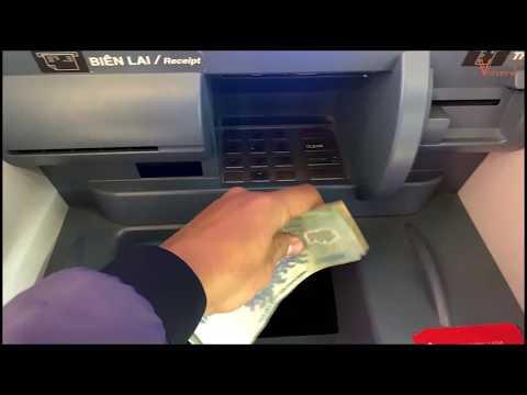 Sử Dụng ATM Có Chức Năng Nhận Diện Tiền Mặt, Nộp Tiền Trực Tiếp Tại Máy Của Techcombank Cực Tiện Lợi