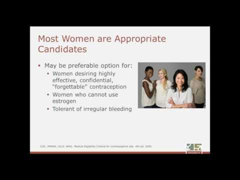 8/30/16: Comparative Contraception Series - Long Acting Reversible Contraception