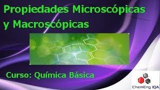 Propiedades micro y macroscopicas // QB11