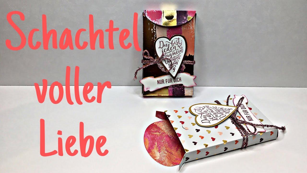 Stampin Up Schachtel Voller Liebe