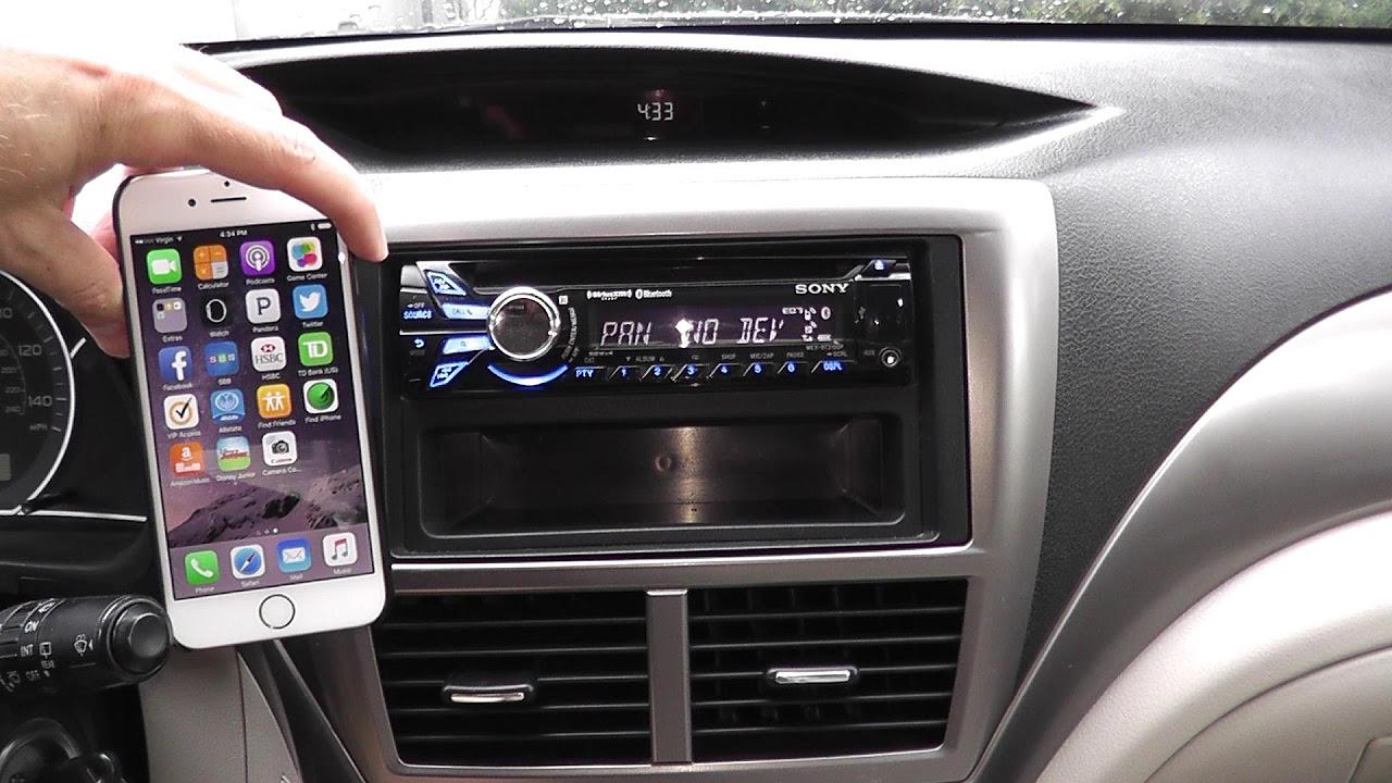 Sony dsx-a416bt araba teybi ekran ayarları