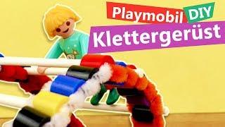 Playmobil DIY Spielplatz Idee | Klettergerüst selber machen | Puppen Spielplatz basteln