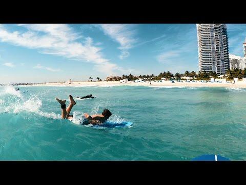 SURFING IN MIAMI!!!