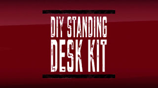 Cliff-proof Diy Standing Desk Kit Trailer