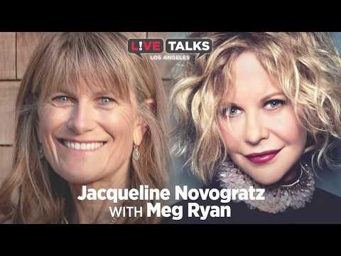 Jacqueline Novogratz in conversation with Meg Ryan at Live Talks Los Angeles