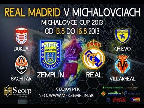MFK Zemplín Michalovce - Real Madrid 1:1 (15.8.2013)