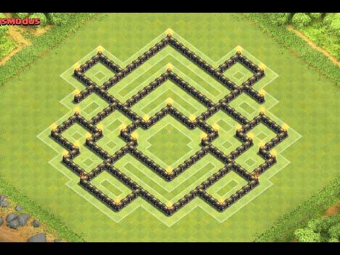 Clash Of Clans Best Th Trophy Base