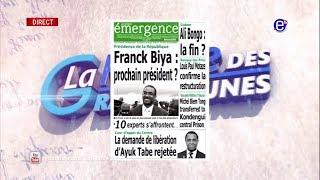 LA REVUE DES GRANDES UNES DU VENDREDI 16 NOVEMBRE 2018 - ÉQUINOXE TV