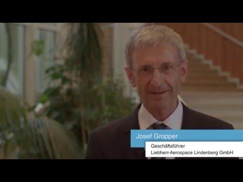 Tag der Weltmarktführer am Bodensee - Interview mit Josef Gropper