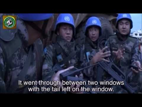 Chinese Soldiers Ran Away From A UN Mission In Sudan when rebels attacked | Indian Army saved !