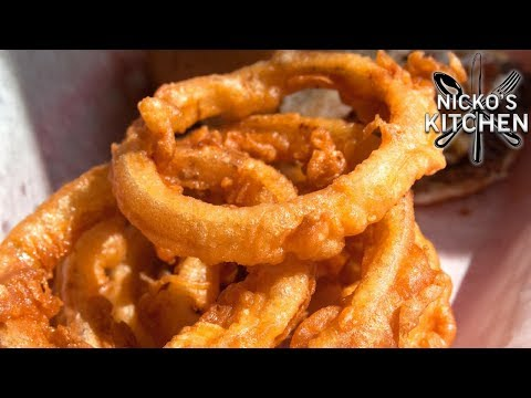 HOW TO MAKE ONION RINGS - VIDEO RECIPE