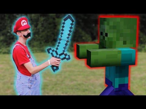 Mario meets Minecraft