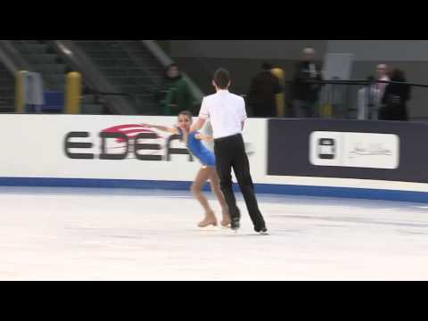 2014 prudential u s figure skating championships intermediate pairs sp 12   Megan Griffin Andrew Civ