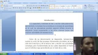 Introduccion de un trabajo o tesis (Modelos) 2015