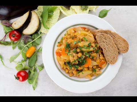 Рагу с нутом и савойской капустой | Рецепты Веган Vegan | Яна Вегана