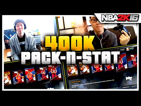 NBA 2K16 Pack and Stat 400k WAGER vs SamPham