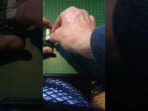 Electric golf trolley speed control switch replaced