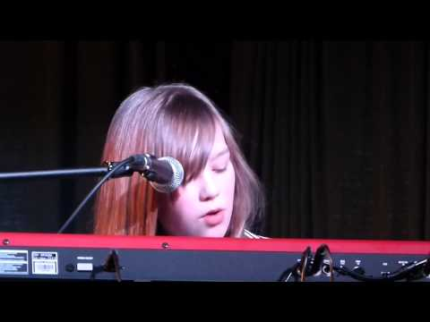 Connie Talbot at a charity event