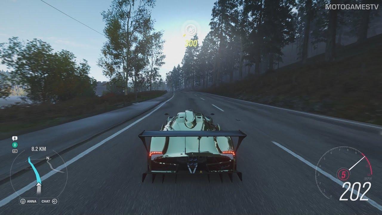 Forza Horizon 4 Pagani Zonda R Forza Edition Gameplay Youtube