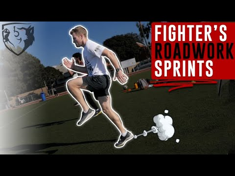 Fighter's Sprint Workout for Fight Preparation