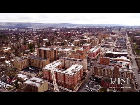 Rise At State College Drone Footage