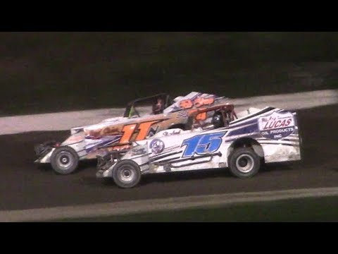 Topless Sportsman Modified Feature | Genesee Speedway | 9-17-17