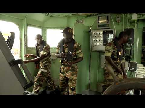 Obangame Express 2014: Boarding Procedures