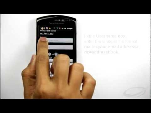 Set Up Address Book On Your Android Phone