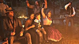 Red Dead Redemption 2 - Fireplace Party