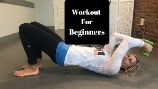 Total Body Workout Routine For Beginners- Effective AND Safe!