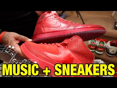 RARE Music Inspired Sneaker Collection By Perfect Pair