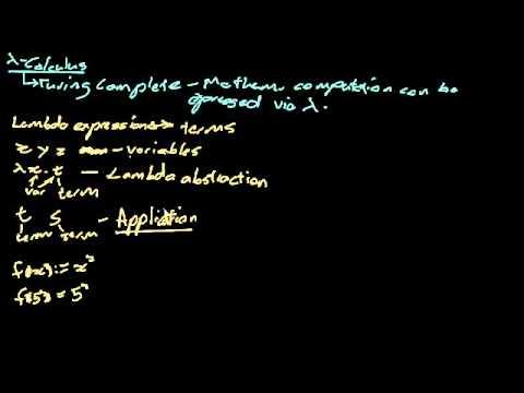 PLT: Lambda Calculus - Basics 1