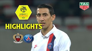 OGC Nice - Paris Saint-Germain ( 1-4 ) - Highlights - (OGCN - PARIS) / 2019-20